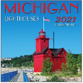 Michigan Lighthouses 2021 Calendar