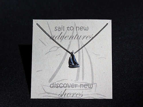 Sail To New Adventures Necklace