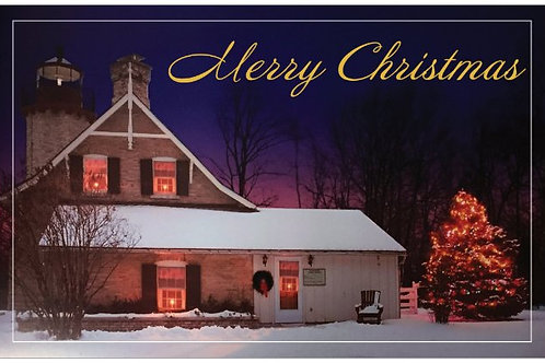 McGulpin Point Christmas Cards-Night