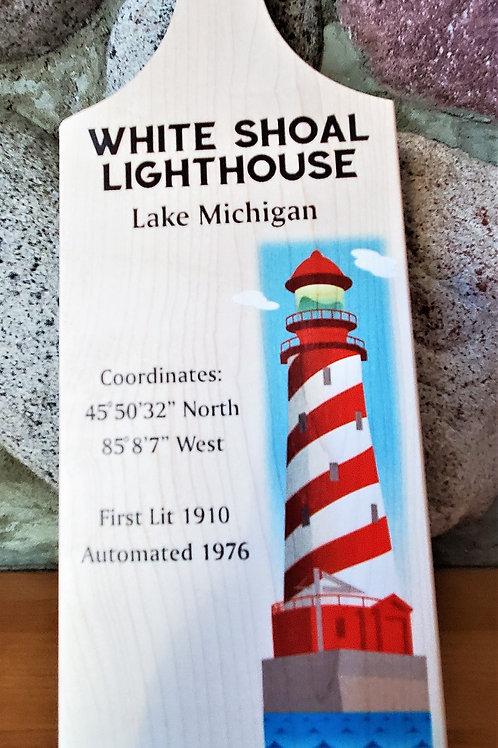 White Shoal Lighthouse Cutting Board