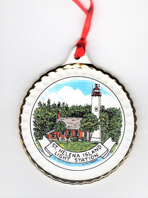 St. Helena Lighthouse Ornament