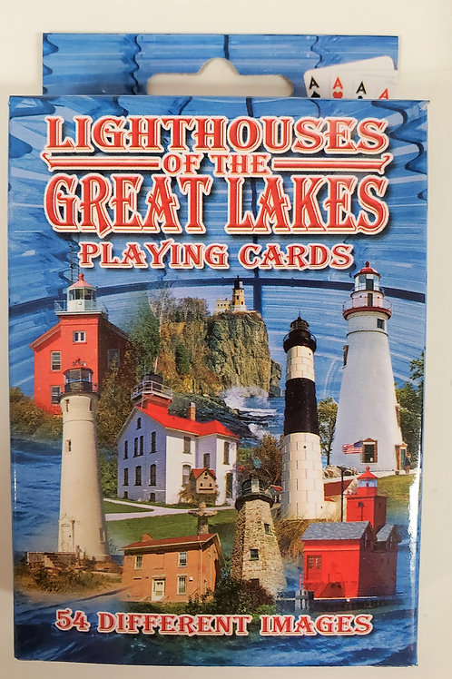 Lighthouses of the Great Lakes Playing Cards