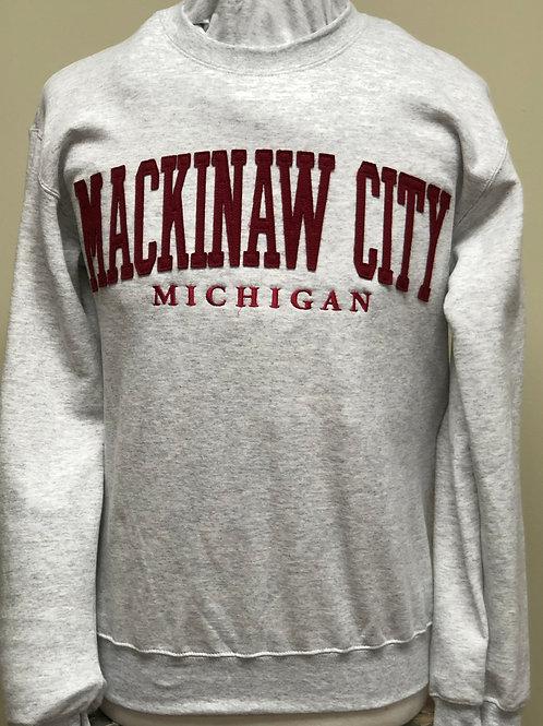 Mackinaw City Crew Sweater