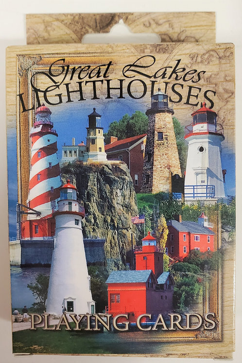 Great Lakes Lighthouse Playing Cards