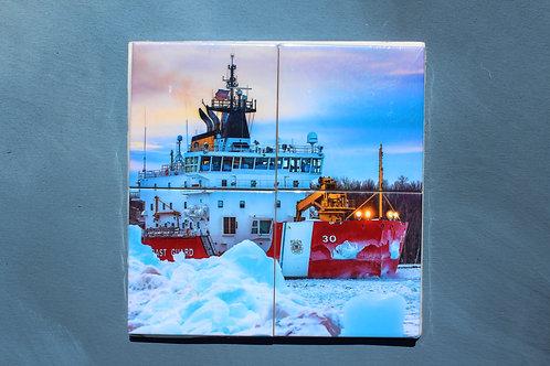Icebreaker Mackinaw Coaster Set