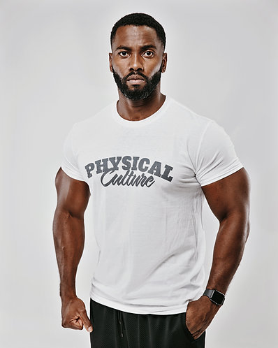 PCA Classic White with Charcoal T-shirts