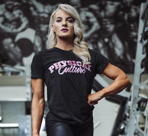 PCA Classic Pink Camo T-shirts