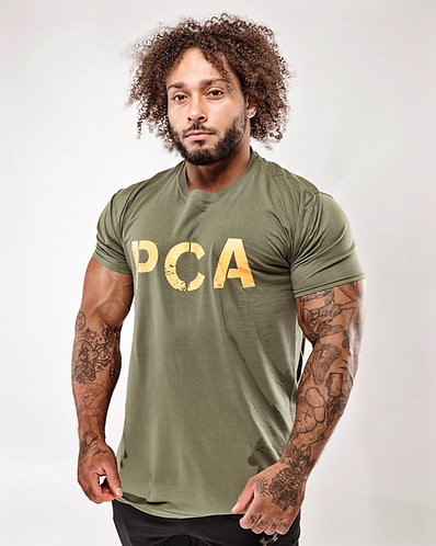 PCA Logo Green T-shirts