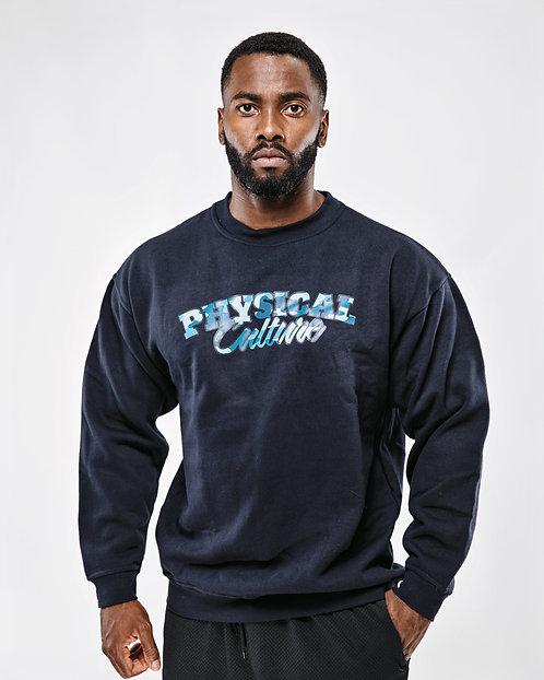 PCA Classic Blue Camo Sweatshirt