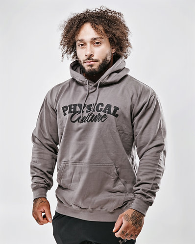 PCA Classic Black on Charcoal Hoody