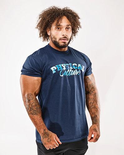 PCA Classic Blue Camo T-shirts
