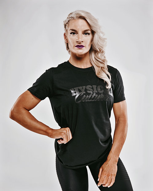 PCA Classic Black on Black T-shirts