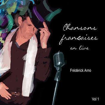 FrederickArno_chanteur_pop_album_Chansons françaises