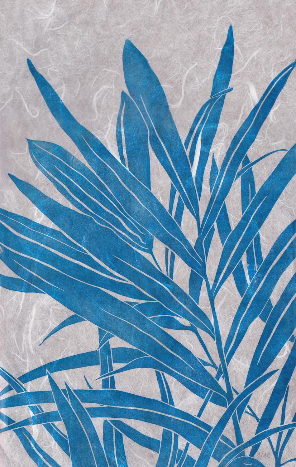 Plantes bleues