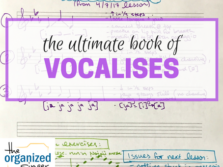 The Ultimate Book of Vocalises