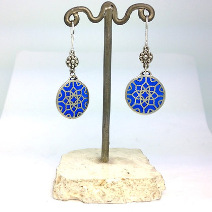 Stained Glass Window Earrings