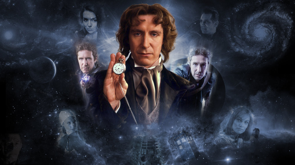 8th Doctor Collage