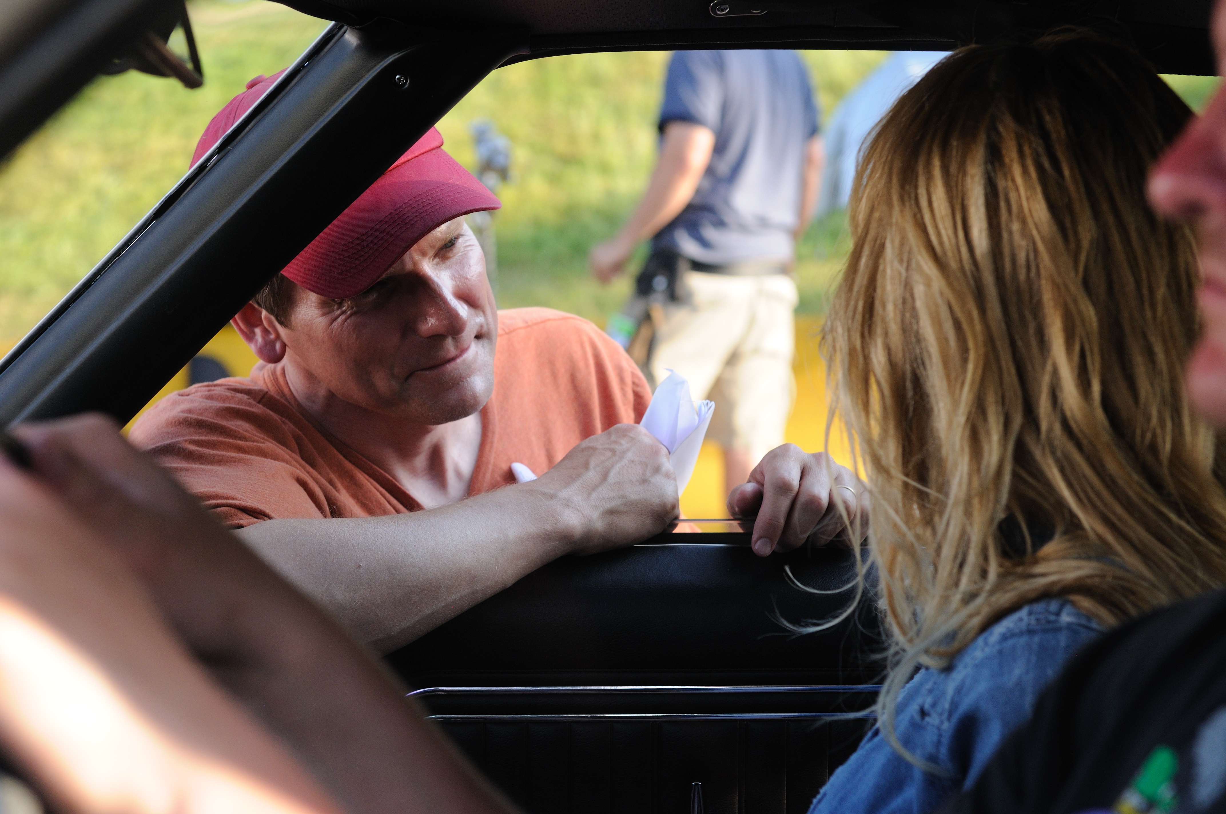 Directing Amber Drive Angry