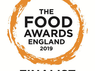We are a Food Awards Finalist!