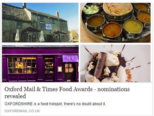 Nominated for the Food Awards!