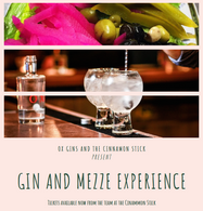 Gin and Mezze Experience - 9th April