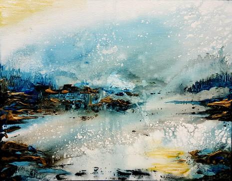 Sunrise Blue 1st Place Acrylic