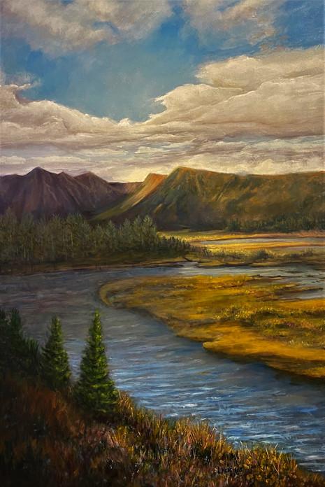 Alaska II - 3rd Place Oil
