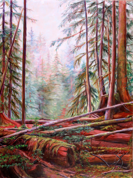 Mossy Forest - 1st Place Oil