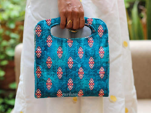 Totally Teal Clutch