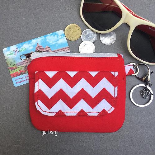 Mini wallet: Red