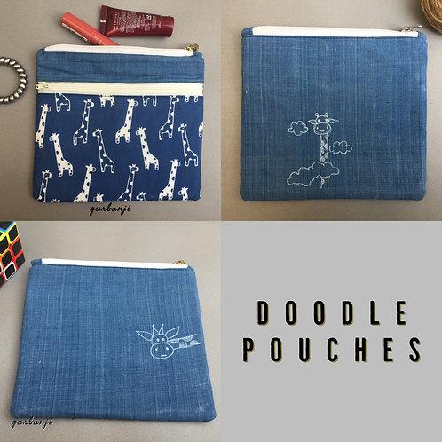 Doodle pouch