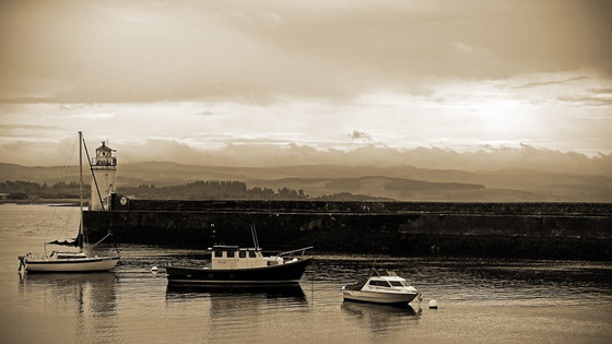Motorhome visit to Lochgilphead