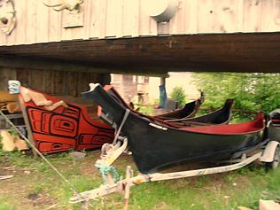 Calvin Hunt, totem pole, masks, Kwakwaka'wakw, Pacific American Indian Native  Northwest Coast Indian, Nations
