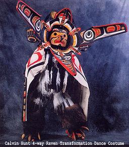 Kwakwaka'wakw fine Northwest Coast art by Kwakiutl artist, Calvin Hunt. Internationally renown for totem poles and masks.