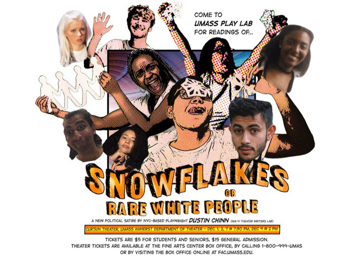 Snowflakes, or Rare White People Reading