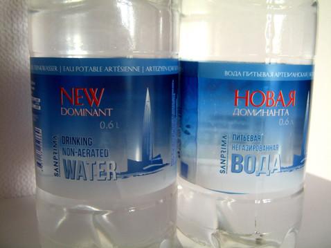 """Артезианская вода """"Новая доминанта"""""""