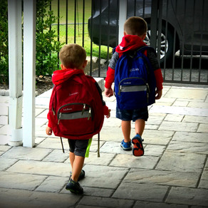First Day of School Jitters