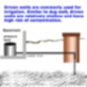 driven water wells