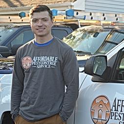 Kevin Kerrigan a Certified Pest Control Technician