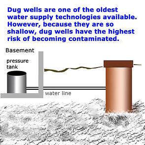 dug water wells