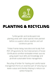 Planting and Recycling Wyro Green Homes.