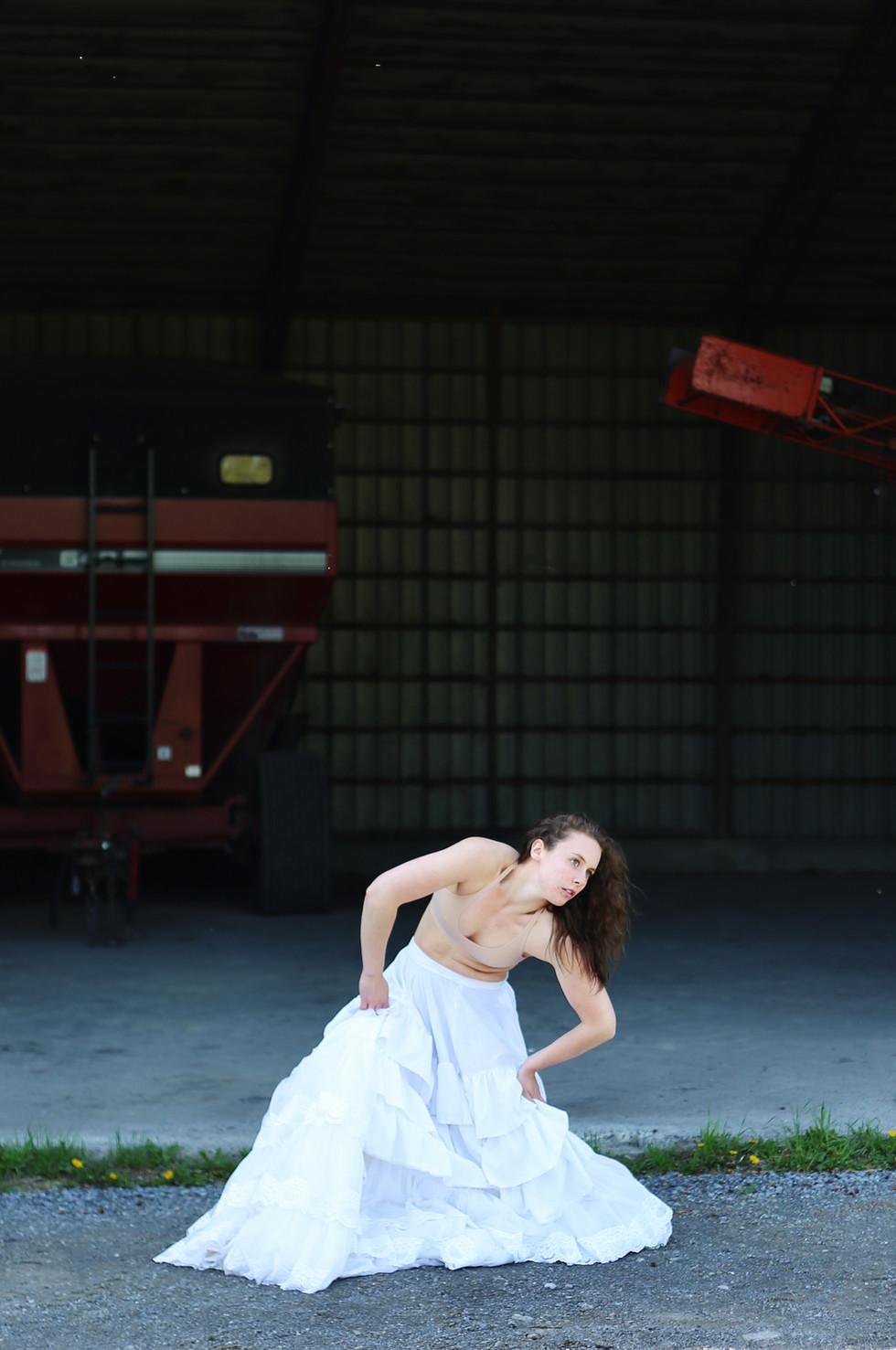 Modèle: Vicky Gélineau Photographe: Marie-Ève Dion
