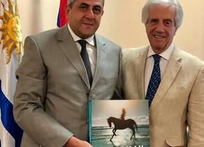 Secretario General de OMT visita a Uruguay