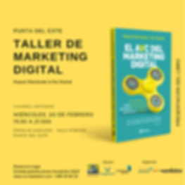 Marketing AVC Presentación de libro