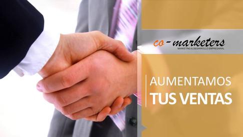 Co-Marketers - Primer spot publicitario de nuestra agencia.  Productora: 24 Milímetros