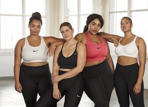 Nike lanza en Uruguay línea femenina de talles grandes.