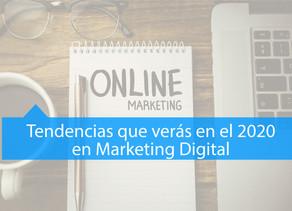 Apuesta por la tecnología! Tendencias en marketing digital