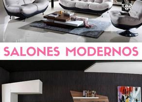 Inspiración para salones modernos