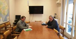 Antía promueve trabajo conjunto entre Gobierno Nacional y Departamental