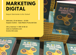 "Lanzamiento del libro ""El AVC del Marketing Digital"""